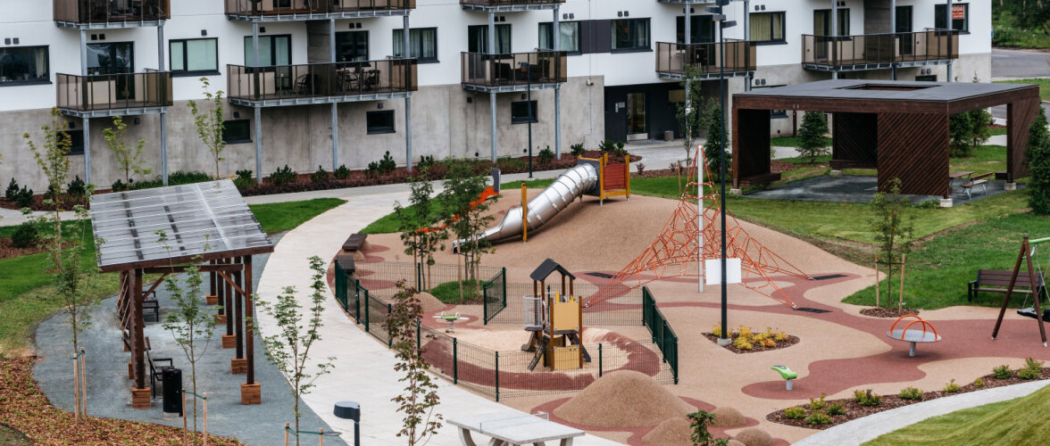 Aurora Park on esimene omataoline elukondliku kinnisvara arendus Eestis. Vaata pildigaleriist järele