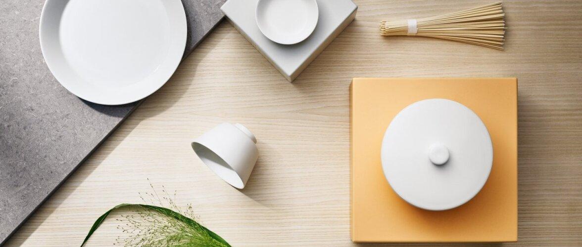 UUDIS: Iittala Teema kollektsioon täienes Aasia disainerite loodud sööginõudega