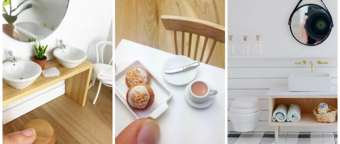 Elu nagu tikutopsis — vaata TÕELISELT miniatuurseid kodusid!