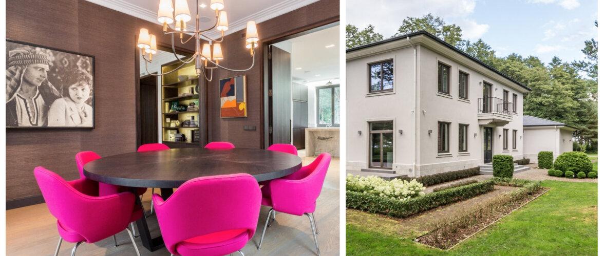 Suurejooneline villa Suurupis võlub oma liivarannaga