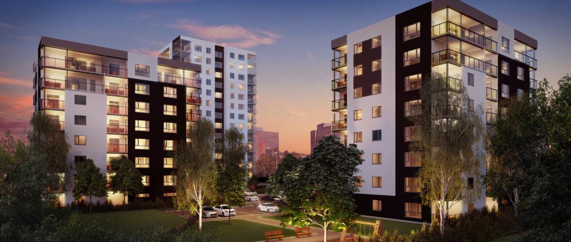 Merko rajab Paeparki kaks 8-korruselist kortermaja