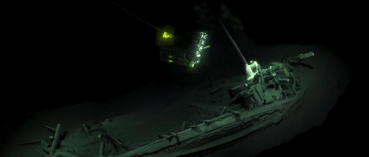 В Черном море нашли греческое торговое судно времен Сократа и Платона