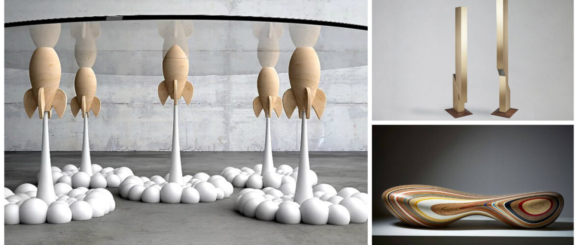 VAATA PILTE: viis eriskummalist mööblileidu Dubai disainimessilt