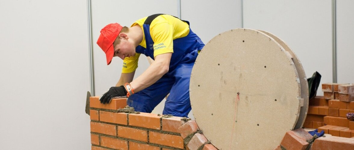 Ehituserialade kutseõppurid astuvad võistlustulle