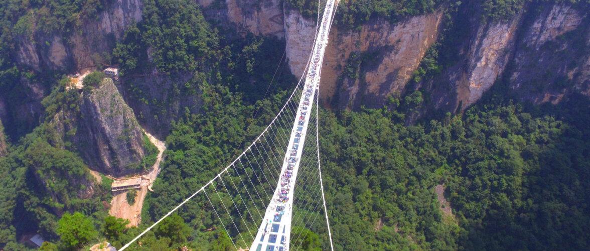 10 kõige ohtlikumat ja kõhedust tekitavat silda maailmas