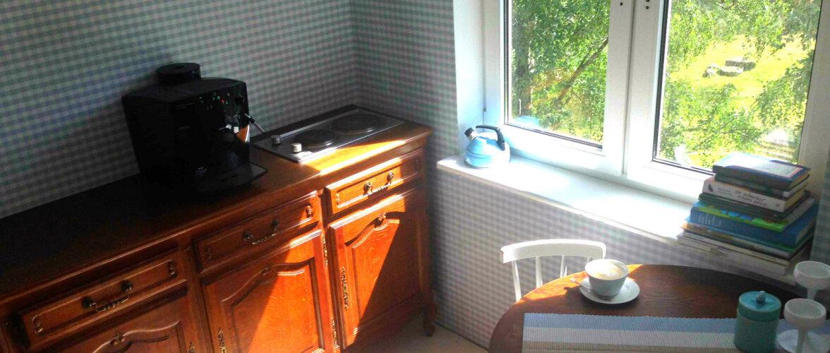 Vanadest asjadest ja sinisest veekannust sündinud köök