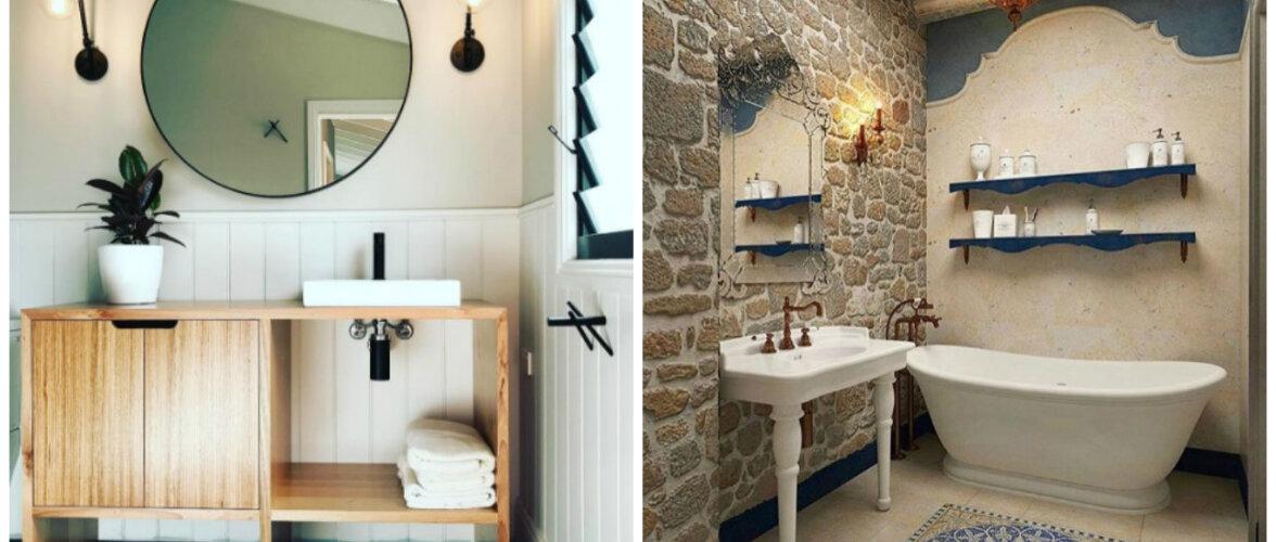 FOTOD: 15 vannituba — head lahendused ja stiilsed kujundused!