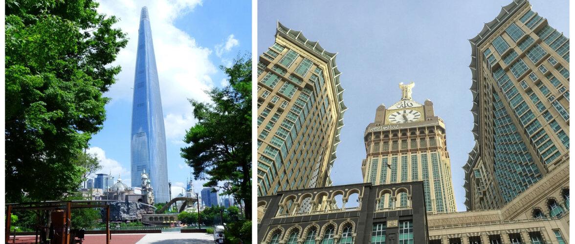TOP 10 | Maailma kõige kõrgemad ja võimsamad ehitised