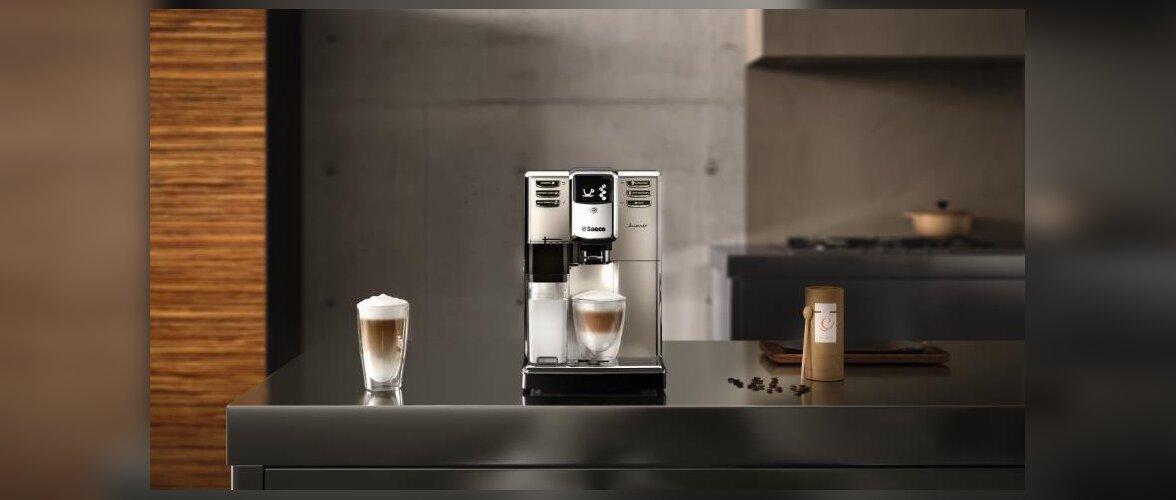 Saeco 30 aastat innovatsiooni ja armastust kohvi vastu