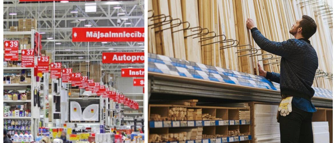 HINNAVÕRDLUS | Kui suur on erinevate kaupade hinnavahe Eesti ja Läti ehituspoodides?