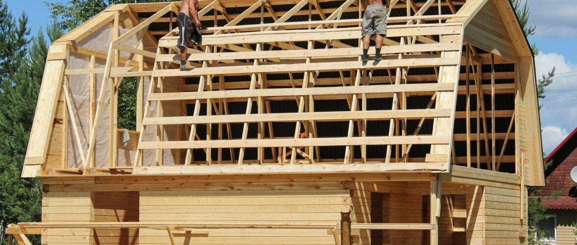 Ehitama peab kuivast, tugevussorteeritud puidust. Loe, kuidas puitu sorteeritakse