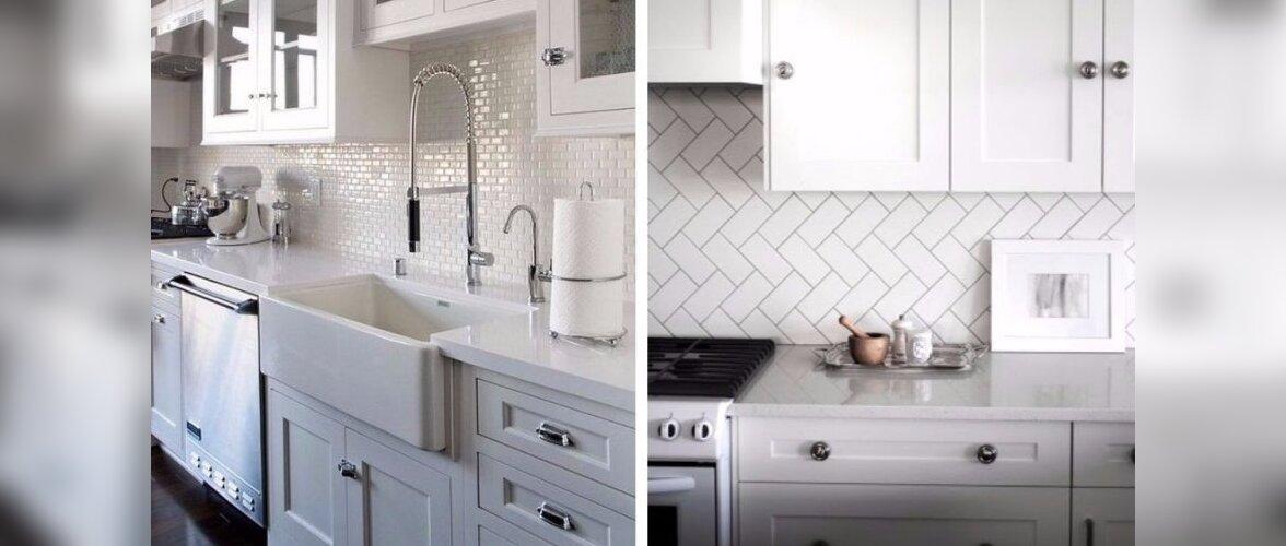 """Kuum trend köögis — """"metrooplaadi"""" minivariant"""
