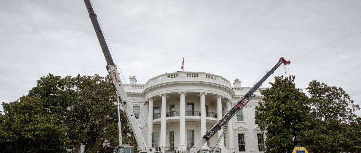 Tühi Ovaalkabinet - Valges Majas käivad suuremahulised remonditööd. Vaata pilte!