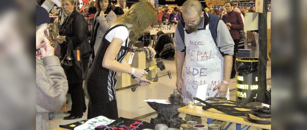 Käsitöölised valmistuvad meistri aastaks