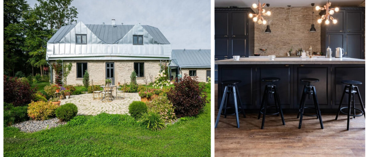 FOTOD | Vana paekivist maja uues ja värskes kuues