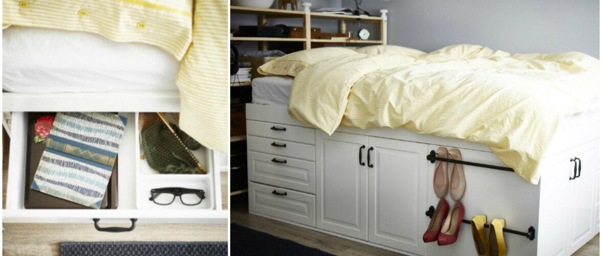TEE ISE: ruumisäästlik voodi, mida on lihtne kokku panna