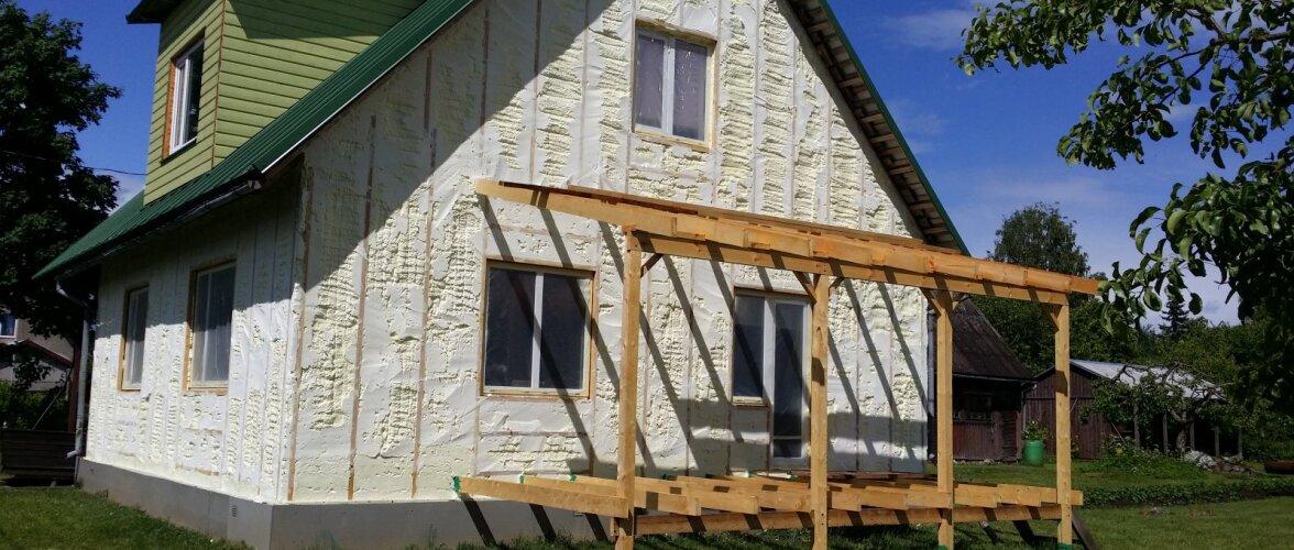 Energiatõhusa hoone üks alustaladest on kvaliteetne soojustus
