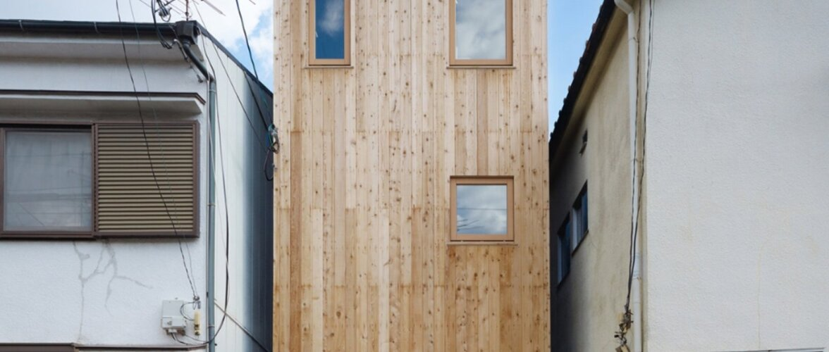 Nutikas lahendus, kuidas mõne meetri laiusele krundile mahutati ära 63 m2 pinnaga maja. Vaata fotodelt, kuidas maja seest välja näeb