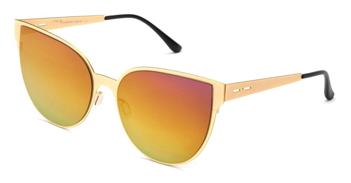2078866bc92 Italia Independenti nägemus värvilistest prillidest – meenutab  päikeseloojangut, kas pole?