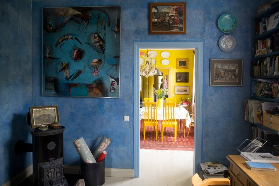 cf7e3ea84b7 Keraamik Liisu Arro päikeseline, kunsti ja kauneid hetki tulvil kodu ...