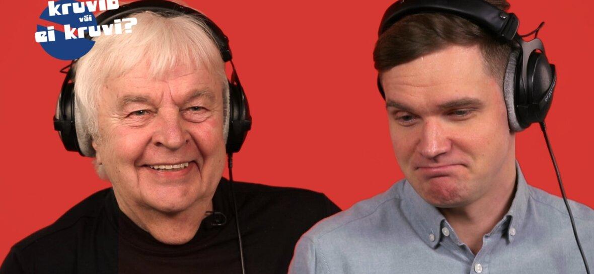 KRUVIB VÕI EI KRUVI? | Eurovisioni veteranid Ott Lepland ja Ivo Linna võtavad tänavused Eesti Laulu osalejad pihtide vahele