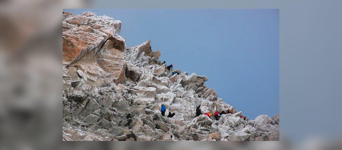 Amatöör Mont Blancil