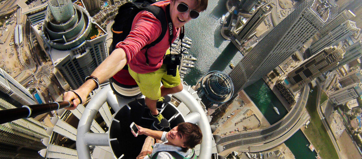 За 6 лет в мире погибло 259 туристов во время селфи