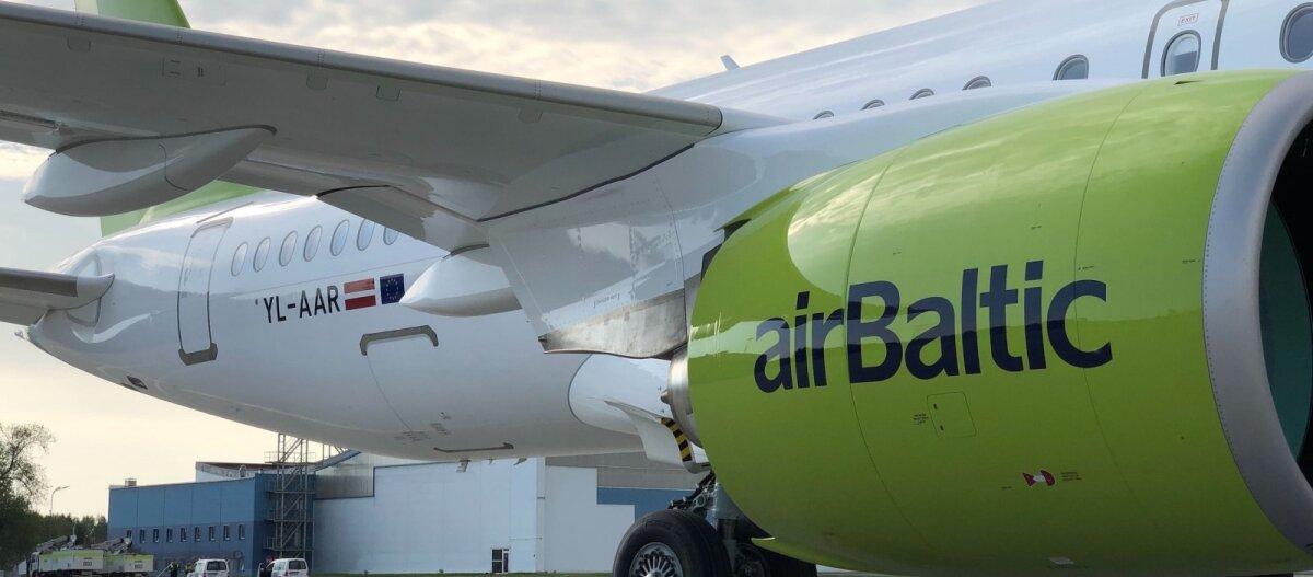 airBaltic до конца октября сократил 50% запланированных рейсов