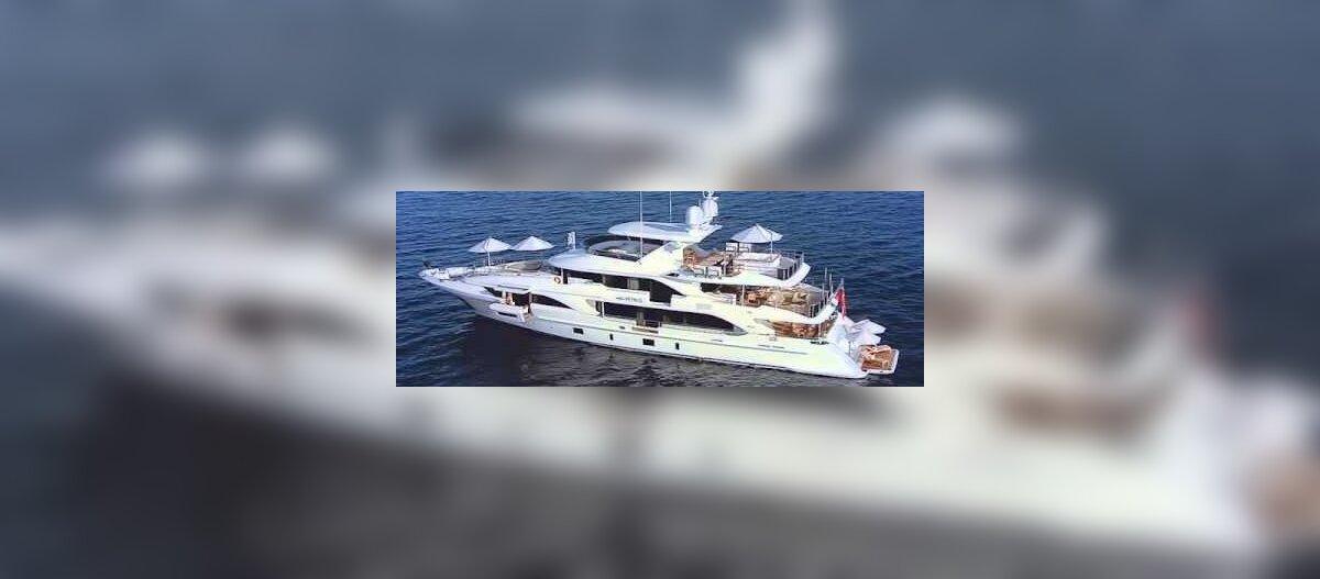 ФОТО и ВИДЕО   Смотрите, как выглядит самая дорогая яхта, принадлежащая эстонскому предпринимателю. Сейчас ее продают за 10,9 млн евро!