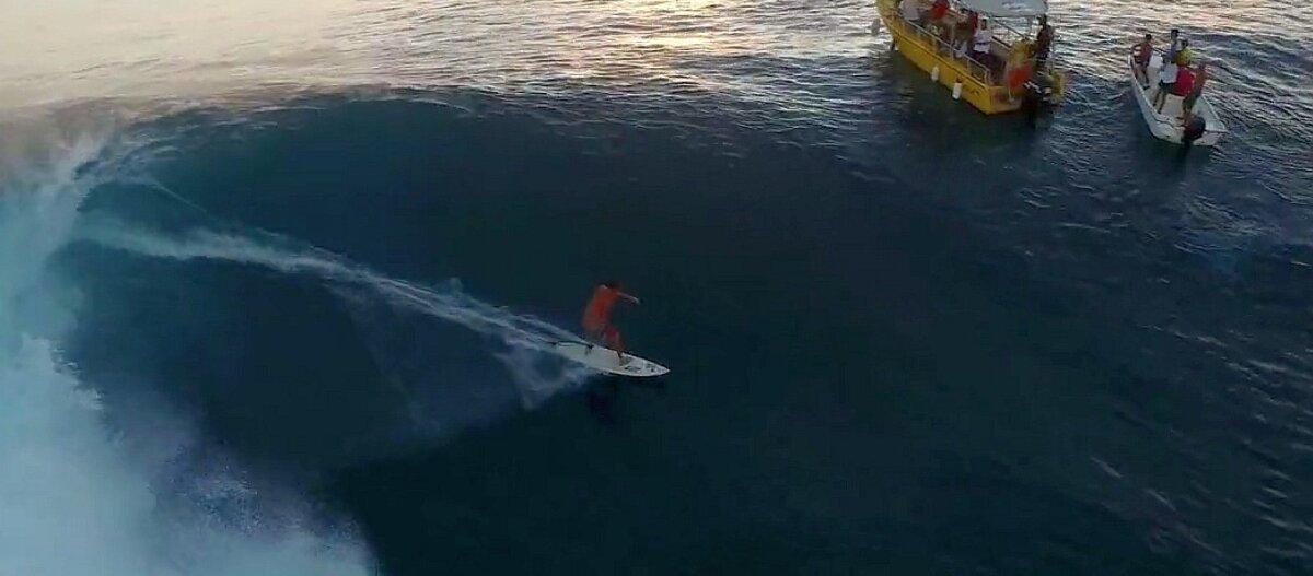 EEPILINE DROONIVIDEO: just nii ilus ja ohtlik see surfamine ongi!