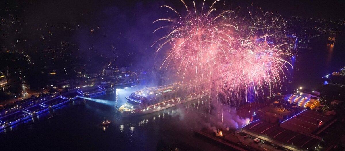 EKSKLUSIIVNE | Itaalia kõrgseltskonnaga Euroopa suurima kruiisilaeva MSC Grandiosa ristimispeol: pardal viibib särav Sophia Loren ja voolab kõige peenema mulliga šampanja