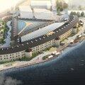 ФОТО | Смотрите, как может выглядеть обновленная Батарейная тюрьма. Комплекс планируют открыть к 2026 году