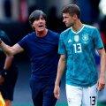 Joachim Löw (vasakul) ja Thomas Müller on koos teinud suuri tegusid. Kas tehakse korra veel?