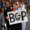 Suured sulid tõllas, väiksed võllas - miiting Navalnõi toetuseks