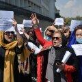 ВИДЕО | Талибы применили газ для разгона женской акции протеста в Кабуле