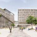 ФОТО | Как будет выглядеть новый квартал на месте Таллиннского ипподрома? Там появится новый супермаркет Rimi
