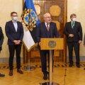 President Alar Karis kohtus nelja haigla juhtidega