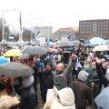 Tuhanded tulid eri põhjustel protestima