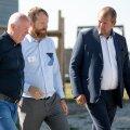 Heiti Hääl (paremal) ütleb, et pole eriti võimalust, et Tallinna kinnisvarahinnad kukuvad - maad ju juurde ei tule.