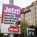 Valimisplakatid Berliini tänavatel.