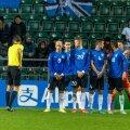 Wales võttis Lilleküla staadionil Eesti üle oma võimsa fänniarmee toel napi võidu