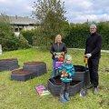 ФОТО | В Пирита строится общественный сад в современном стиле