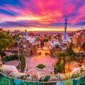 Päikeseloojang Barcelonas