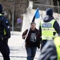 FOTOD | Protesti jätk: Toompea on mehitatud märulipolitseinikega