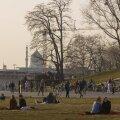 На Эстонию надвигается пыль из Сахары