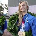 INTERVJUU   Tokyo olümpialt kaks medalit võitnud Katrina Lehis: usun, aga kohale ei ole ikka otseselt jõudnud