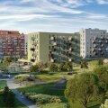 FOTOD | Eesti ühes suuremas kinnisvaraarenduses algas neljas etapp. Mis sinna kerkib?