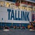 Tallinki laev G7 kliimaprotestide tulipunktis