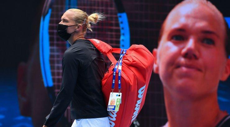 OTSEBLOGI JA FOTOD | Australian Openi tiitlikaitsja pole Kanepi tugevatele löökidele rohtu leidnud, avasett Kaiale 6:3!