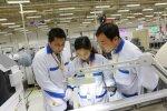 Hiinas Suzhous asuva Nokia tehase töötajad